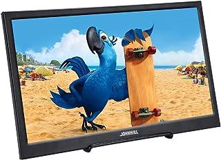 JOHNWILL モバイルモニター 15.6インチ ポータブルモニター 1080P モバイルディスプレイ HDMI/USB/スピーカー内蔵 PCモニター サブモニター ゲーミングモニタ セキュリティーモニター 産業機器ディスプレイ