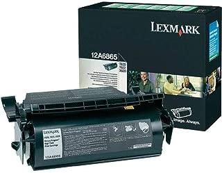 Lexmark T620, T622, X620 High Yield Return Program Toner Cartridge (30,000 Yield), Part Number 12A6865
