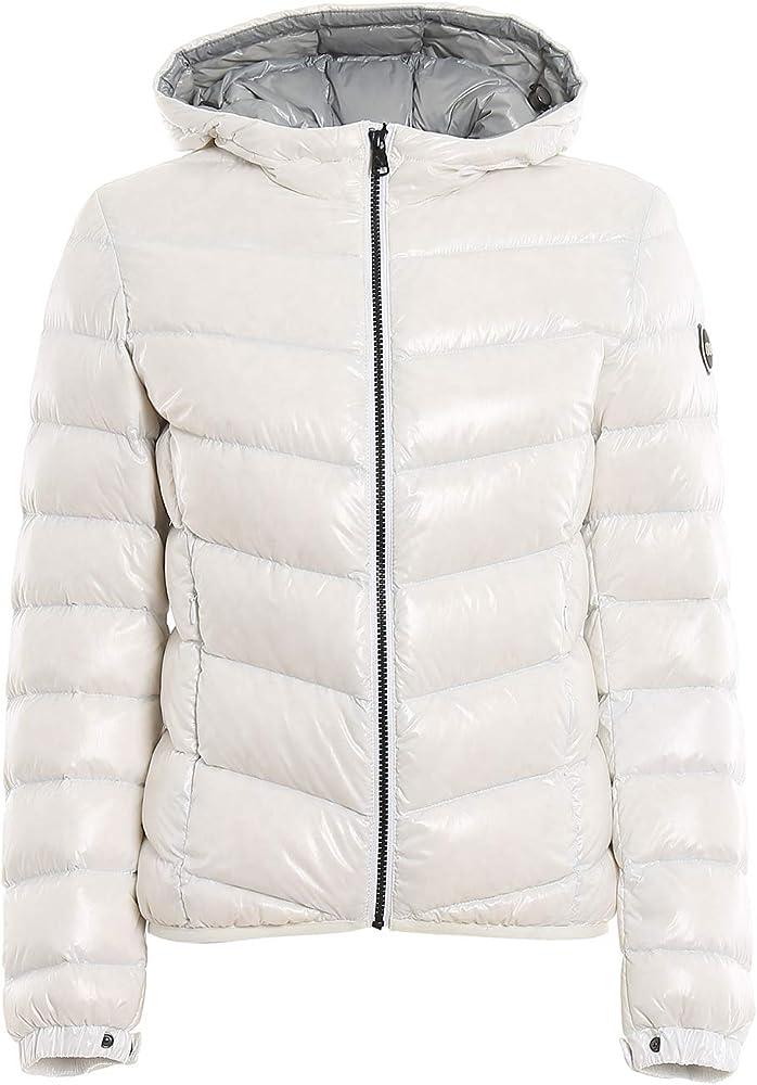 Colmar,giacca,piumino da donna con cappuccio, in tessuto super lucido e imbottito con piume naturali 2247 R