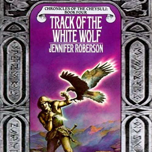Track of the White Wolf audiobook cover art