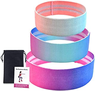 SANGKE Exercise Resistance Band, Resistance Ring Band, Stretching, Strength Training, Natural Latex Exercise Band, 12 Inch...