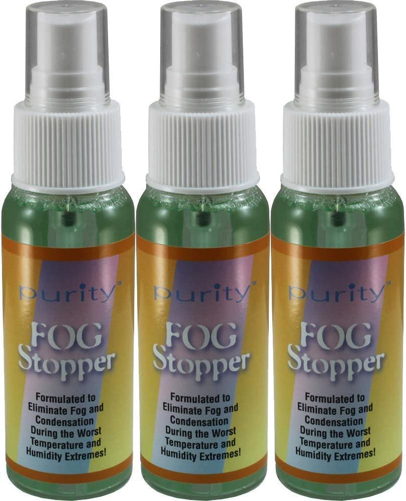 Three Long Beach Mall 2oz Bottles of Popularity Birdz Eyewear Spray Fog Defogger for Anti