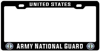 Hopes's Black License Plate Frame Holder - Aluminum Metal License Plate Frame Auto Car for US Standard 2 Holes with Screws