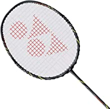 YONEX Nanoray Speed Badminton Racket (Dark Grey)(3UG4)(Strung with BG65 @ 24lbs)