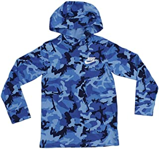 Nike Boy's Sportswear Jersey Camo Hoodie