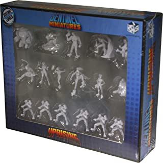 Greater Than Games Sentinel Tactics: Uprising Expansion Miniatures