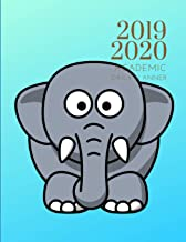 2019-2020 Academic Daily Planner Elephant Organizer With Bible Sermon Notes: Hourly Organizer In 15 Minute Interval; Appointment Calendar With Gratitude Quotes; Monthly & Weekly Journal