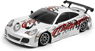 Exceed RC 1/10 Scale MadSpeed Electric Powered Drift Car GT3 Style White 2.4Ghz
