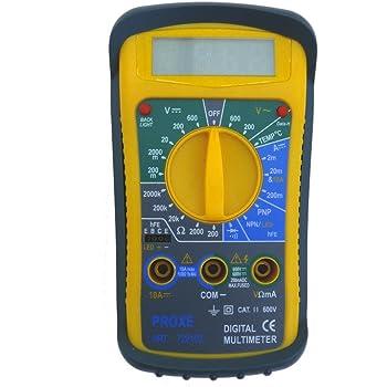 Nero redreamsky DT830B Multimetro Digitale LCD Voltmetro Amperometro AC DC Tensione Tester Circuito Ohm