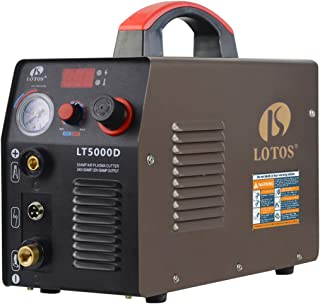 LOTOS LT5000D 50A Air Inverter Plasma Cutter Dual Voltage 110/220VAC 1/2