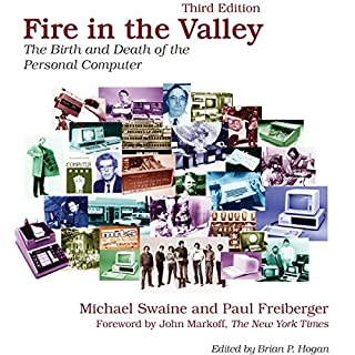 Fire in the Valley audiobook cover art