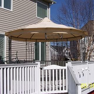 Best amelia island gazebo replacement canopy Reviews