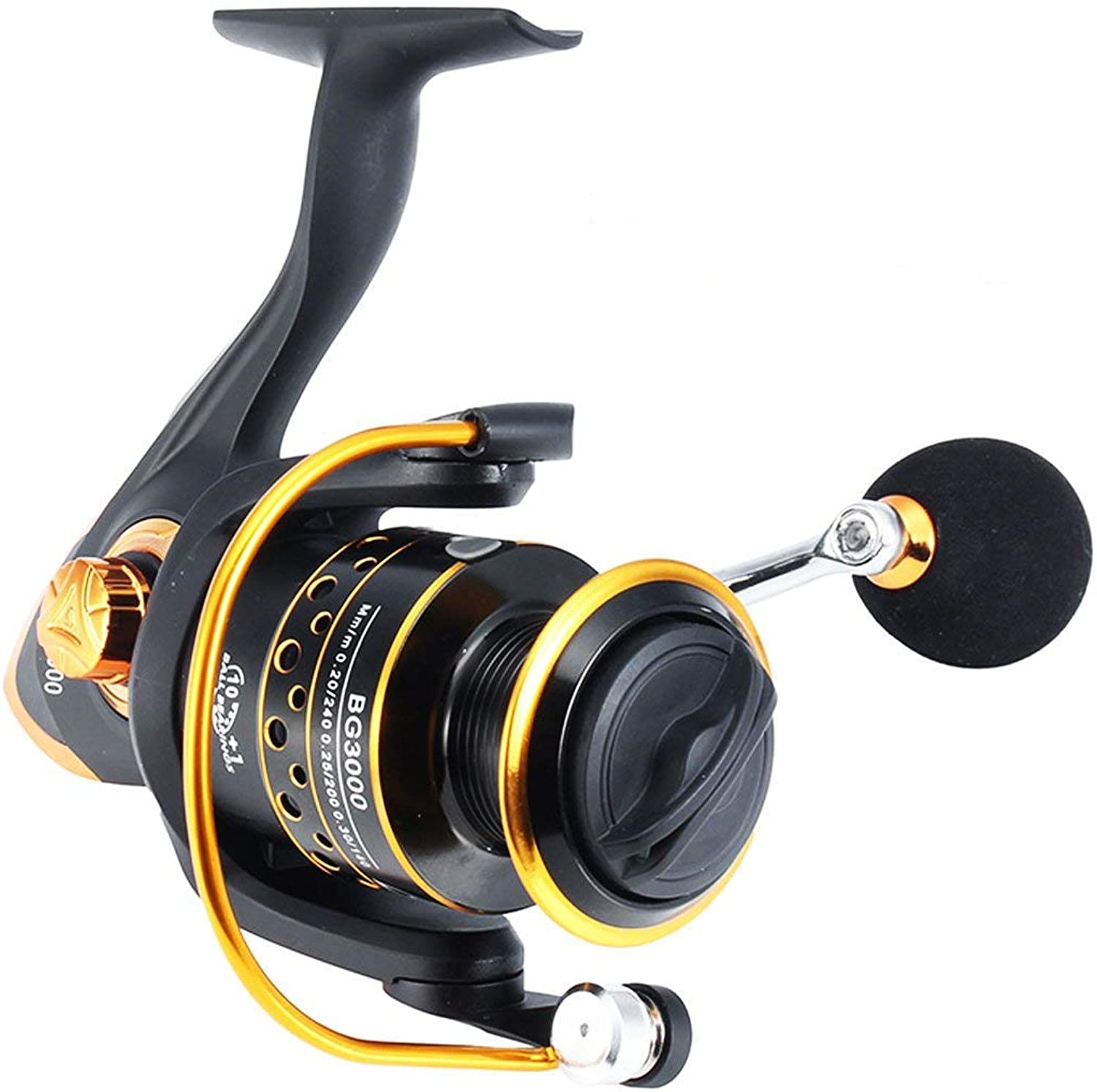 Reel Bobing Fishing reel spinning reel 1000 2000 3000 4000 5000 6000 10 + 1BB both handsclass lightweight fishing reel 3000