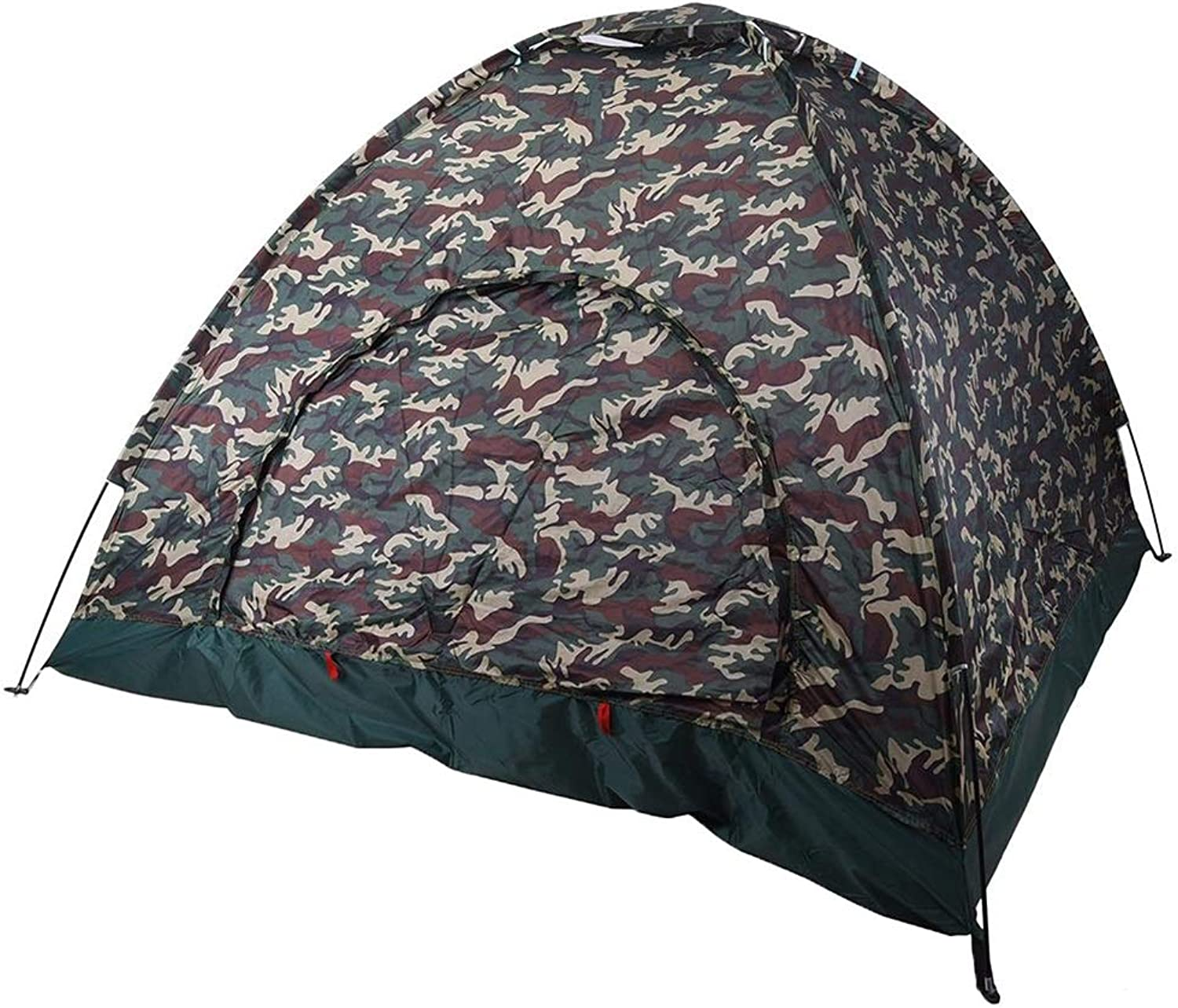 MEIGUIshop Tent  Outdoor 4 Person Tent Structure Stable Camping Tent (color   Camouflage, Size   200  200  135 cm)