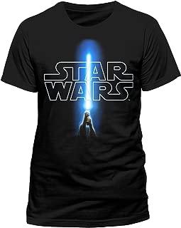 Star Wars 8 The Last Jedi - Logo & Saber (Unisex