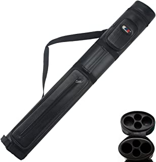GSE Games & Sports Expert 2x2 Deluxe Hard Billiard Pool Cue Stick Carrying Case (Several Colors Available)