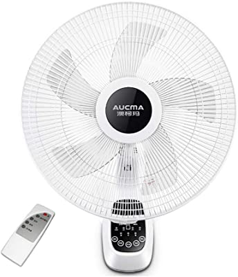 FAN MAZHONG Wall-Mounted 16-inch Three-Speed 7.5H White 60W