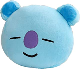 Youyouchard BTS Pillow Doll Plush Small Plush Puppets Toy Bangtan Boys Throw Pillow Cushion Perfect for Home/Car/Office/Travel/School Decor Great Gift(KOYA)