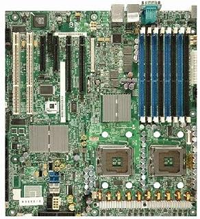 اللوحة الأم لخادم Intel Dual LGA771 Xeon/Intel 5000P/FSB 1333/8DDR2-667/ATI ES1000/2GbE/ SSI EEB - S5000PSLSATAR