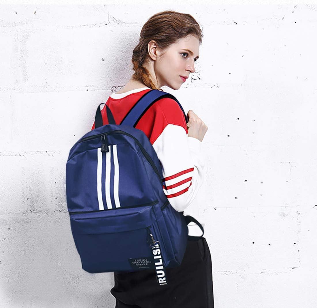 FANDARE Backpack Casual Daypack Men//Women School Bag for Boy//Girl Campus Book-Bag Teenager Outdoor Travel Camping Lightweight Bag Blue