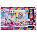 Interactive Playset: it's the ultimate Party Popteenies bash! Your doll Squad can use the DJ booth, pop-up cake centerpiece, spinning dance floor, working elevator and photo booth, with three different backgrounds! Exclusive doll: This playset comes ...