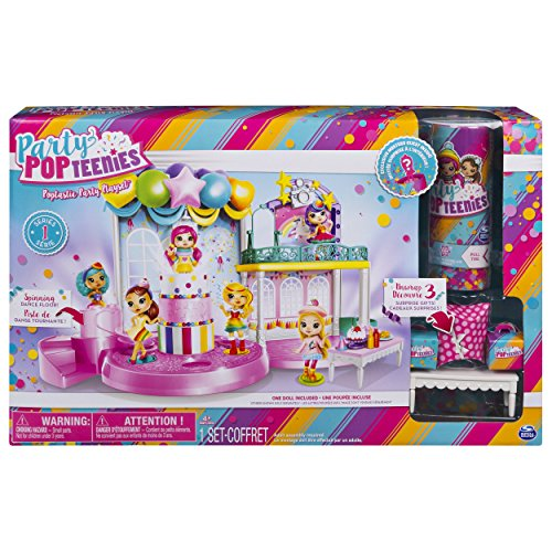 Poptastic Party Playset w/ Confetti, Mini Doll and Accessories -$6.58(73% Off)