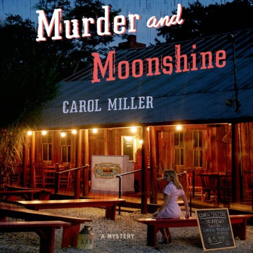 Murder and Moonshine audiobook cover art