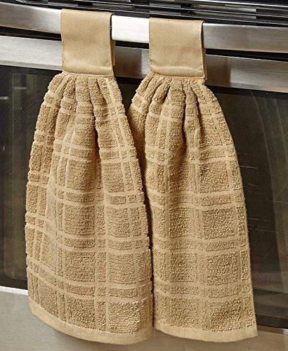 Top 10 Best Selling List for kitchen towels with buttons