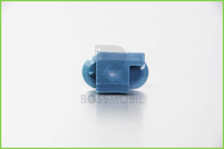 Original BOSSMOBIL kompatibel mit T/ÜRVERKLEIDUNG BEFESTIGUNG CLIPS TEMPRA UNIVERSAL #NEU# 46410400 500358567 18 X 17 X 7 mm Menge 10 St/ück