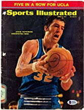 Steve Patterson Signed Sports Illustrated Magazine Cover UCLA Bruins - Beckett Authentication