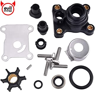 Yamaha Outboards Replaces 63D-W0078-01-00 EVIL ENERGY Replacement Water Pumps /& Impellers 40-90HP Repair Kit Compatible with Mercury