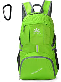 FLYDWV Lightweight Backpack Daypack Packable Handy Travel Hiking Camping Outdoor 35L