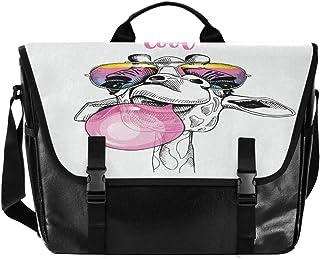 Cool Balloon Bolso de lona para cartero unisex de 15,6 pulgadas, estilo retro, para negocios, bolso de hombro, bolso de mano