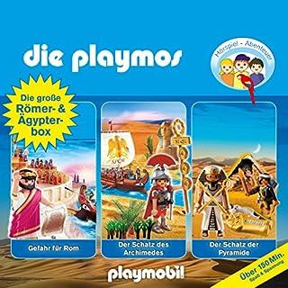 Die große Römer- und Ägypterbox (Die Playmos - Hörspielbox) Titelbild
