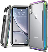 Raptic Shield, Compatible with Apple iPhone XR (Formerly Defense Shield) - Military Grade Drop Tested, Anodized Aluminum, ...