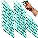 Qualicare Erste-Hilfe-Pinzette, Kunststoff, nicht steril, 12,5 cm, 25 Stück -
