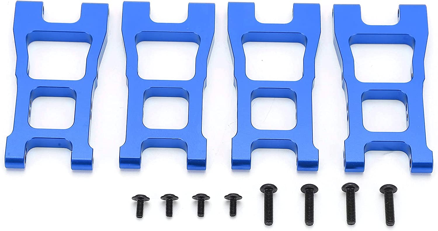 Dilwe Fashionable RC Max 82% OFF Lower Swing Arms 4Pcs Rear Front Alloy Aluminium Lo