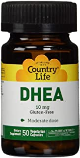 Country Life, Dhea 10mg, 50 Veggie Capsules