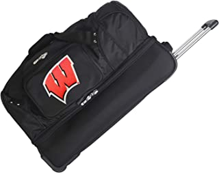 NCAA Wisconsin Badgers Rolling Drop-Bottom Duffel Bag, 27-inches
