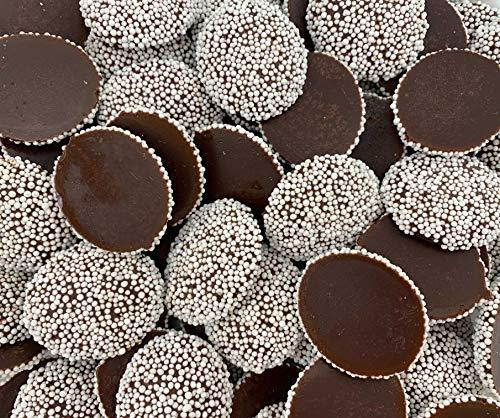 Sunny Island Nonpareils Semi Sweet Dark Chocolate Nonpareils Candy, 2 Pounds Bag