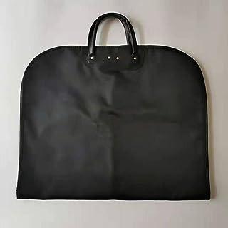 Garment Shoulder Covers Bag, for Travel Storage Closet Clothes Suit Jacket Shirts Organizer with black B
