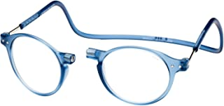 Clic Magnetic Reading Glasses Brooklyn in Blue Jean +1.50