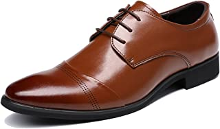 Lace Up Patent Leather Oxford Dress Shoes Formal Wedding Shoes 8015