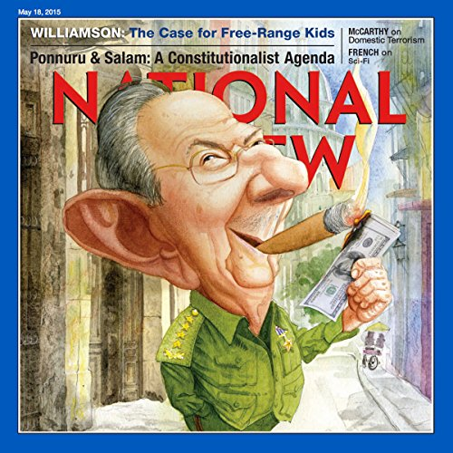 National Review, May 18, 2015 audiobook cover art