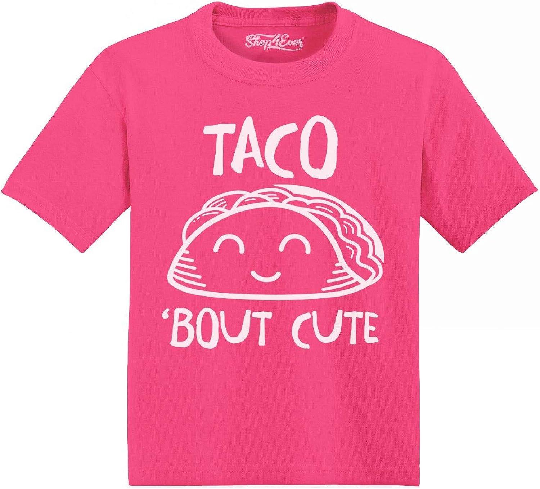 shop4ever Taco Bout Cute Toddler Cotton T-Shirt