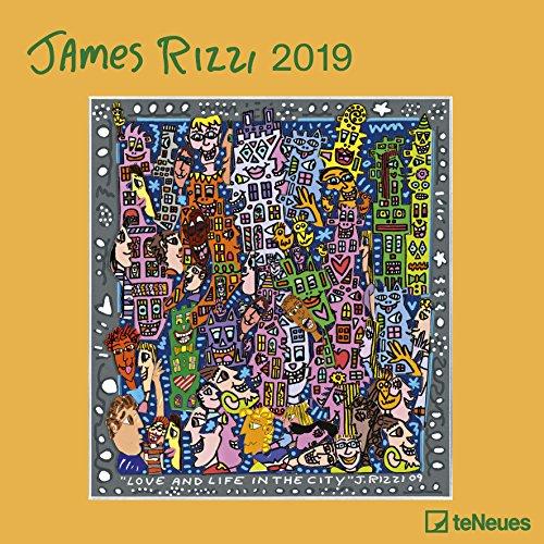 James Rizzi 2019: Broschürenkalender Kunst