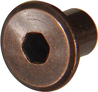 Antique Bronze Joint Connector Nut (1/4
