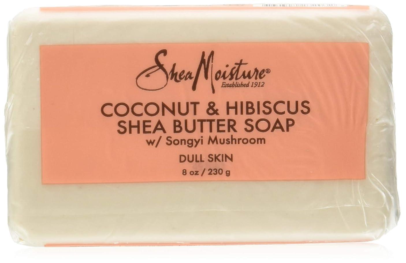 こねる贅沢な細胞Shea Moisture Coconut Hibiscus Bar Soap- 235 ml by Shea Moisture