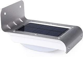 مصباح LED عازل للماء 16 لمبة حائط تعمل بالطاقة الشمسية ضوء ذكي التحكم في الإضاءة الحثيثة