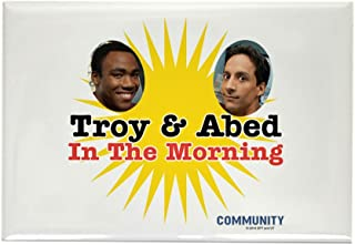 CafePress Troy And Abed In The Morning Rectangle Magnet, 2